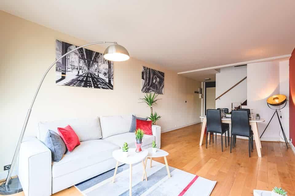 duplex lumineux reims airbnb