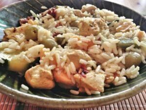 riz poulet recettes confinement marmiton